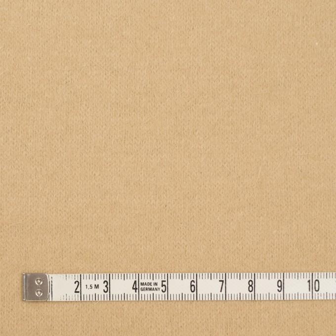 アンゴラ&ナイロン×無地(カスタード)×天竺ニット イメージ4