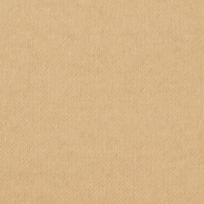 アンゴラ&ナイロン×無地(カスタード)×天竺ニット イメージ1