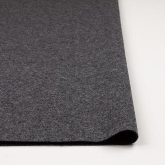 ウール&ナイロン×無地(チャコールグレー&ブラック)×W天竺ニット_全2色 サムネイル3