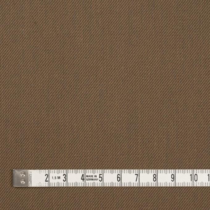 ポリエステル&コットン×無地(ブロンズ)×サージ イメージ4