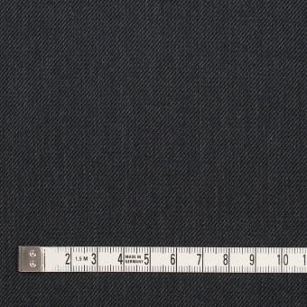 ポリエステル&コットン×無地(チャコール)×サージ サムネイル4