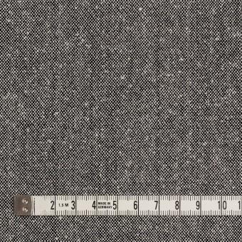 ウール&シルク×無地(シルバーグレー)×ツイード サムネイル4