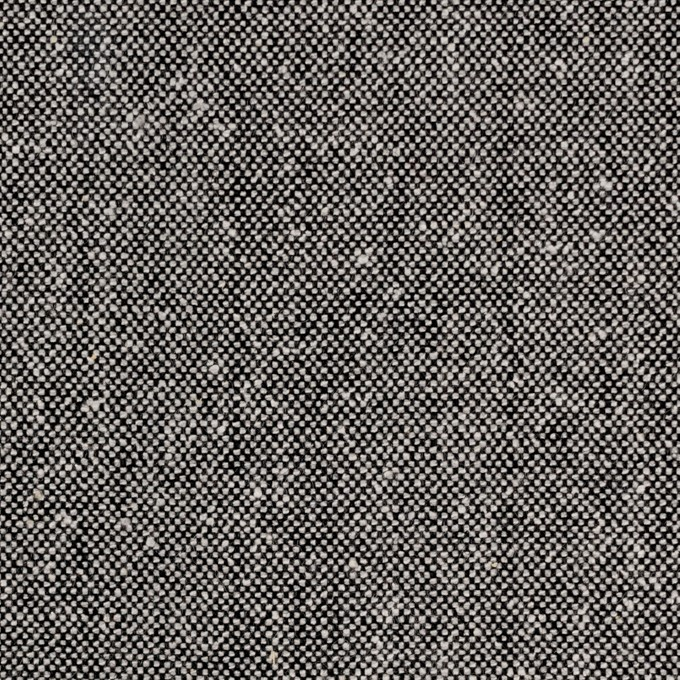 ウール&シルク×無地(シルバーグレー)×ツイード イメージ1