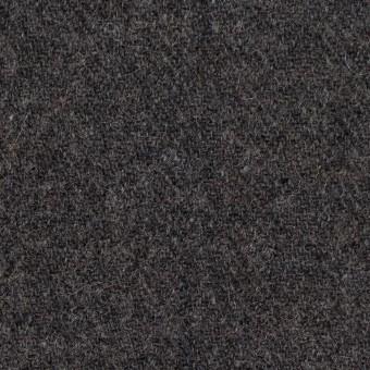 ウール×無地(チャコールグレー)×ヘリンボーン サムネイル1