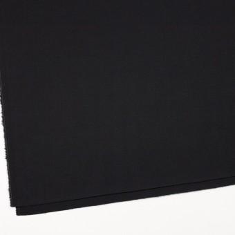 ウール×無地(ブラック)×サージ サムネイル2