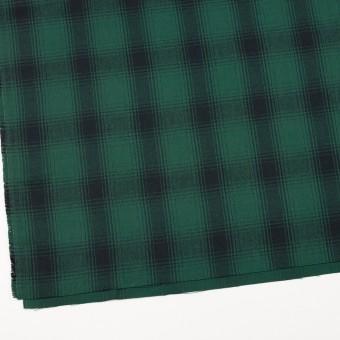 コットン×チェック(モスグリーン&ブラック)×ビエラ サムネイル2