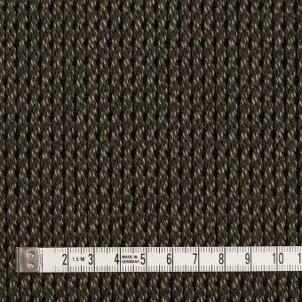 アクリル&コットン混×ミックス(カーキ)×かわり織 サムネイル4