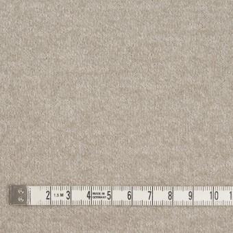 ウール&ポリアミド×無地(グレイッシュベージュ&アッシュグレー)×Wフェイス圧縮天竺ニット_イタリア製 サムネイル8
