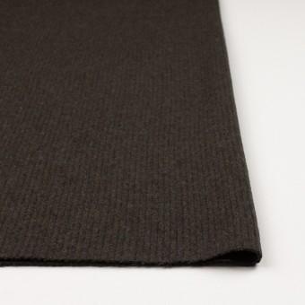 ウール×無地(ダークカーキ)×圧縮リブニット_全2色 サムネイル3