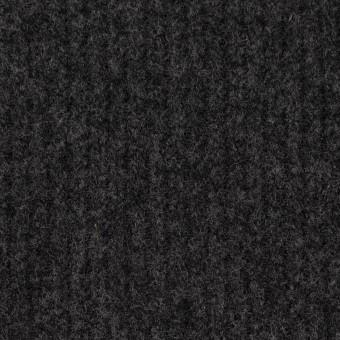 ウール×無地(チャコールグレー)×圧縮リブニット_全2色 サムネイル1