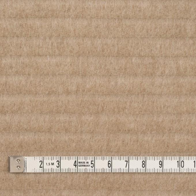 ウール&ナイロン×無地(ベージュ)×ビーバー イメージ4
