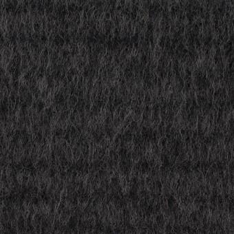 ウール&アクリル混×無地(チャコールグレー)×シャギー サムネイル1