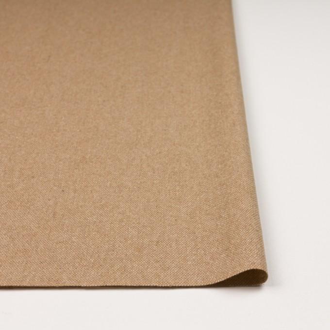 ウール&ポリエステル混×無地(キナリ&ベージュ)×ツイードストレッチ_全5色 イメージ3
