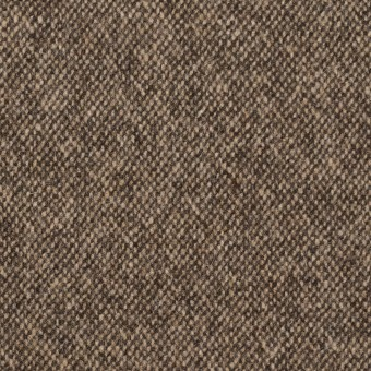 ウール&ポリエステル混×無地(キナリ&ブラウン)×ツイードストレッチ_全5色