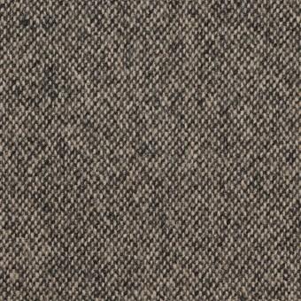 ウール&ポリエステル混×無地(キナリ&ブラック)×ツイードストレッチ_全5色