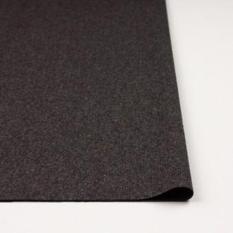 ウール&ポリエステル混×無地(チャコール&ブラウン)×ツイードストレッチ_全5色 サムネイル3