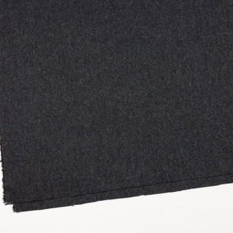 ウール&ポリエステル混×無地(チャコール&ブラック)×ツイードストレッチ_全5色 サムネイル2