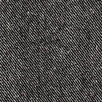 ウール&レーヨン混×無地(ブラック)×サージ_全2色