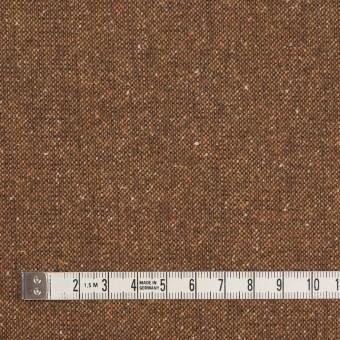 ウール&ポリエステル混×無地(オータムリーフ)×ツイードストレッチ_全2色_イタリア製 サムネイル4
