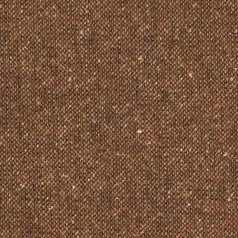 ウール&ポリエステル混×無地(オータムリーフ)×ツイードストレッチ_全2色_イタリア製
