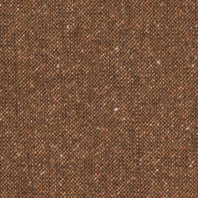 ウール&ポリエステル混×無地(オータムリーフ)×ツイードストレッチ_全2色_イタリア製 イメージ1