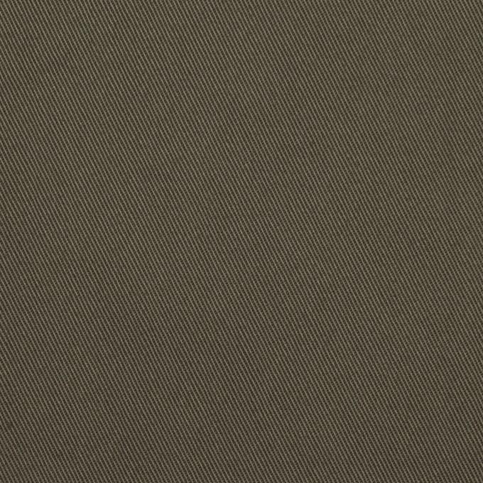 コットン×無地(アッシュカーキ)×チノクロス_全7色 イメージ1