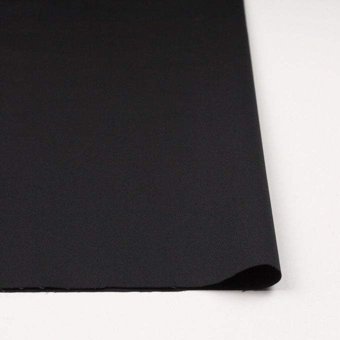 コットン×無地(チャコールブラック)×チノクロス_全7色 イメージ3