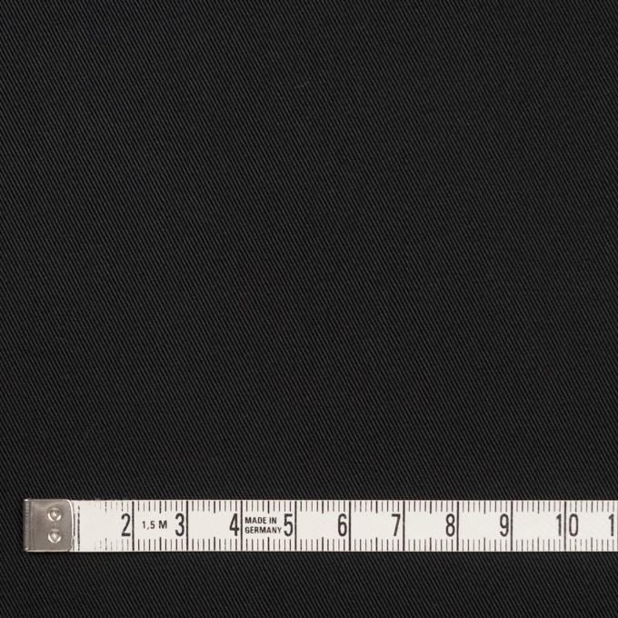 コットン×無地(チャコールブラック)×チノクロス_全7色 イメージ4