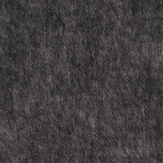 コットン×無地(チャコール)×デニム(起毛加工) イメージ1