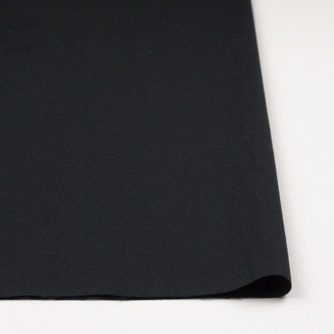 コットン&キュプラ混×無地(ブラック)×ビエラ イメージ3