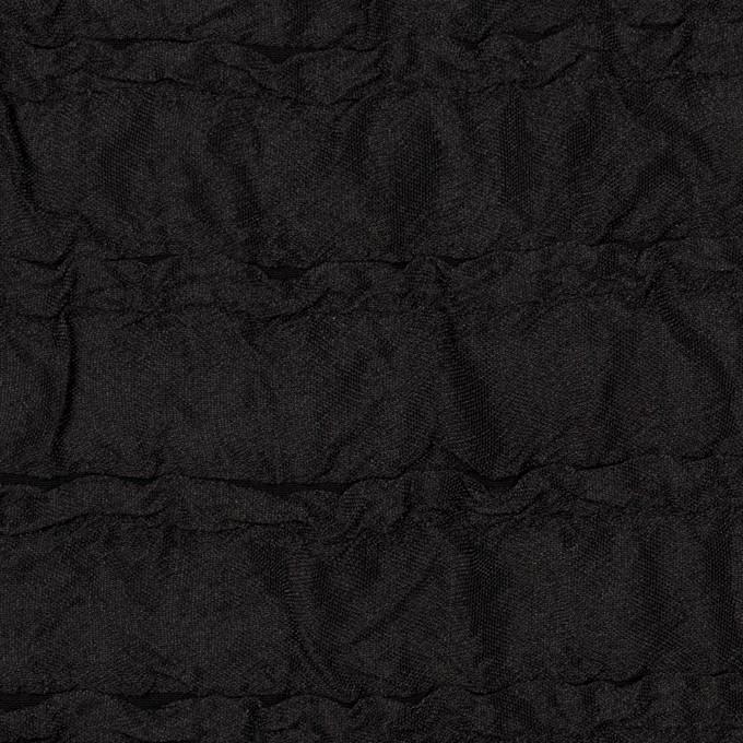 ポリエステル×無地(ブラック)×フクレジャガード イメージ1