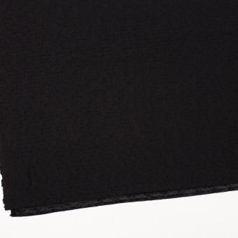 シルク&ナイロン×ボーダー(ブラック)×サテンジャガード サムネイル2