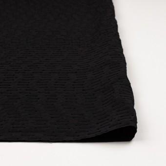 シルク&ナイロン×ボーダー(ブラック)×サテンジャガード サムネイル3