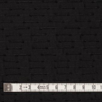 シルク&ナイロン×ボーダー(ブラック)×サテンジャガード サムネイル4