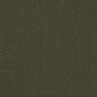 ウール×無地(カーキグリーン)×サージ_全2色