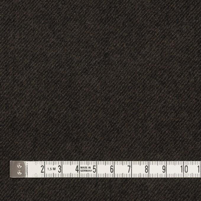 ウール×無地(ダークブラウン)×ビエラ イメージ4