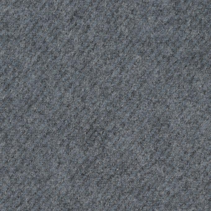 ウール&ナイロン×無地(ブルーグレー)×厚カルゼ イメージ1