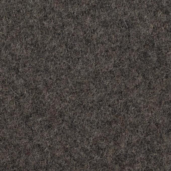 ウール×無地(ストーングレー)×メルトン イメージ1