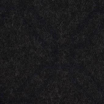 ウール&コットン×幾何学模様(チャコール)×二重織ジャガード