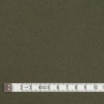 コットン×無地(カーキグリーン)×フランネル_全8色 サムネイル4