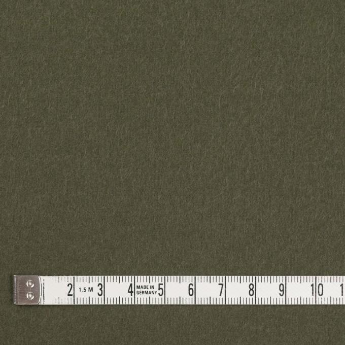 コットン×無地(カーキグリーン)×フランネル_全8色 イメージ4