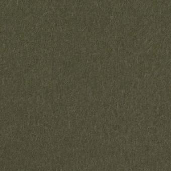コットン×無地(カーキグリーン)×フランネル_全8色