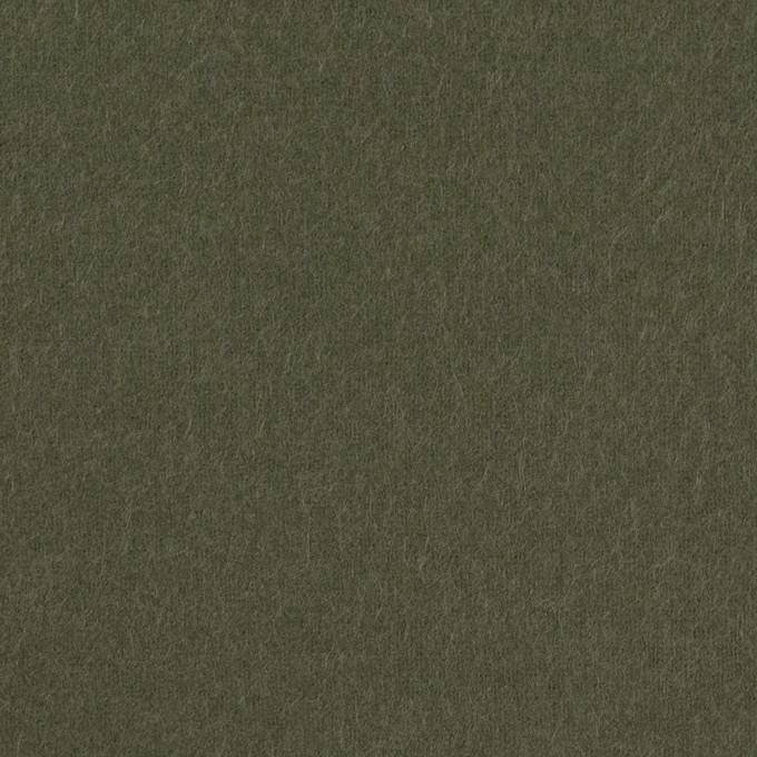 コットン×無地(カーキグリーン)×フランネル_全8色 イメージ1