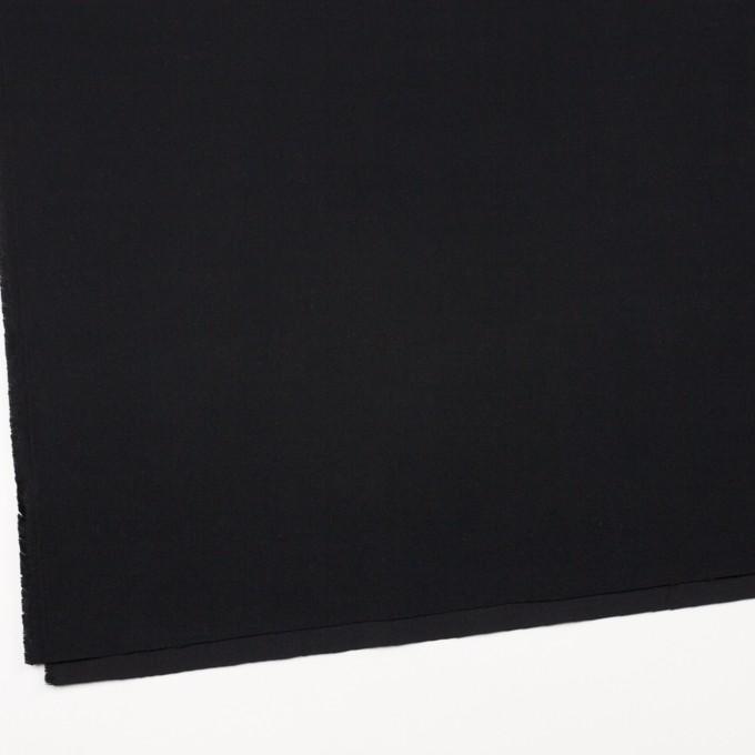 コットン×無地(ブラック)×フランネル_全8色 イメージ2