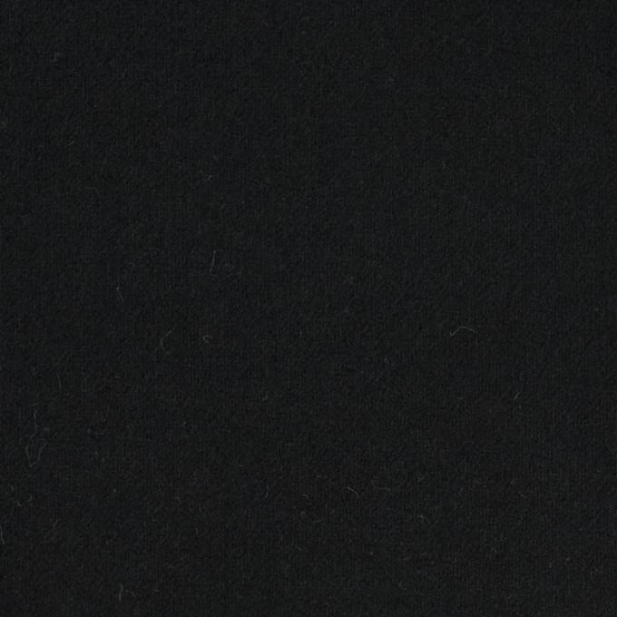 コットン×無地(ブラック)×フランネル_全8色 イメージ1