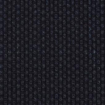 コットン×無地(ダークネイビー)×刺し子 サムネイル1