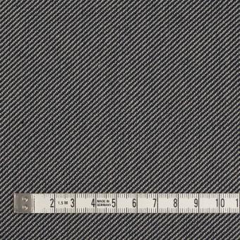 コットン×無地(グレイッシュベージュ&ネイビー)×厚サージ サムネイル4
