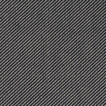 コットン×無地(グレイッシュベージュ&ネイビー)×厚サージ サムネイル1