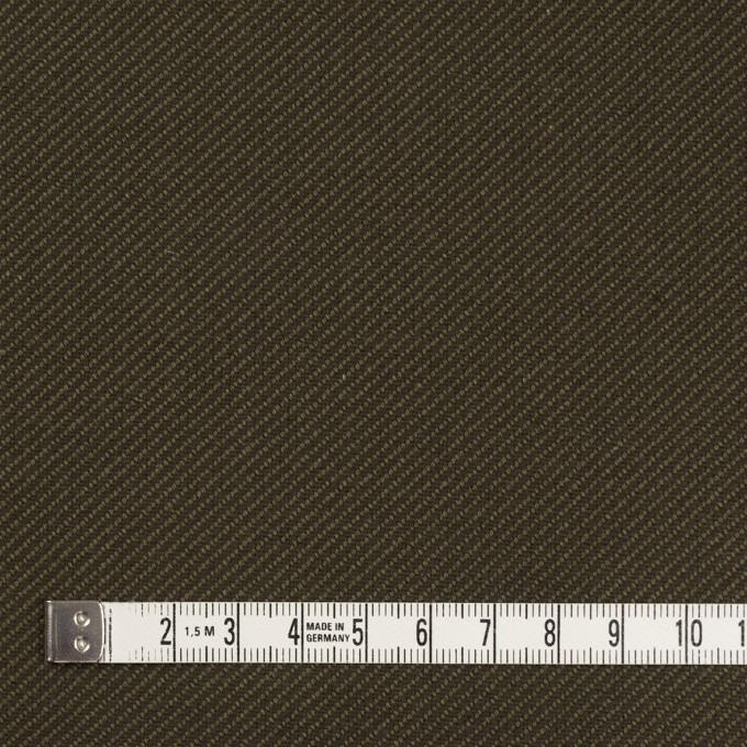 コットン×無地(カーキグリーン&カーキブラウン)×厚サージ イメージ4