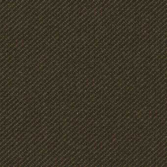 コットン×無地(カーキグリーン&カーキブラウン)×厚サージ